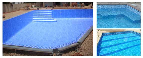 Liner armado piscina sfica for Liner para piscinas desmontables