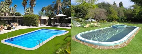 modelos piscinas fibra diana y venus - Piscinas De Fibra